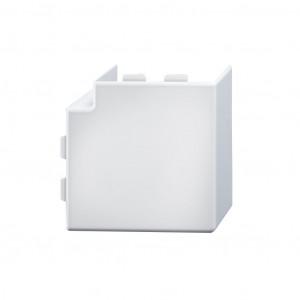 Flachwinkelhaube 40/110 lichtgrau RAL 7035