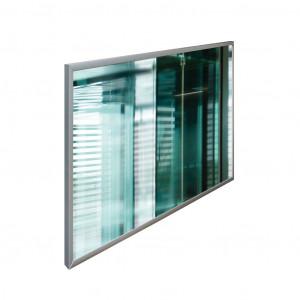 Spiegelheizpaneel 600 Watt mit Alurahmen
