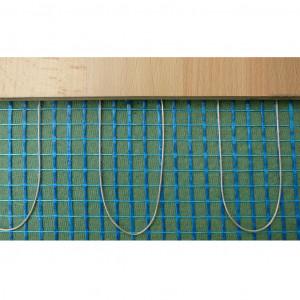 Trockenbauheizmatte 0,50 x 18,00 Meter 230V/160 Watt m2, Kaltende 2 x 4 Meter